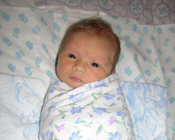 Привет, Я родился, мне всего 3 дня!!!