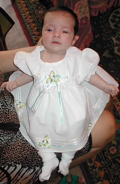 Первое платье!