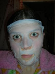 Коллагеновая маска =)