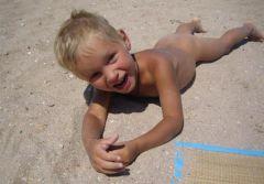 Пляжный мальчик