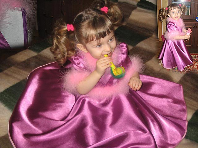 Новогодняя принцеса ;))