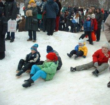 Ледяночный спуск!
