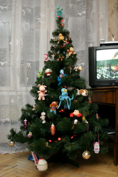 готовая елочка для годовалова ребенка :)))