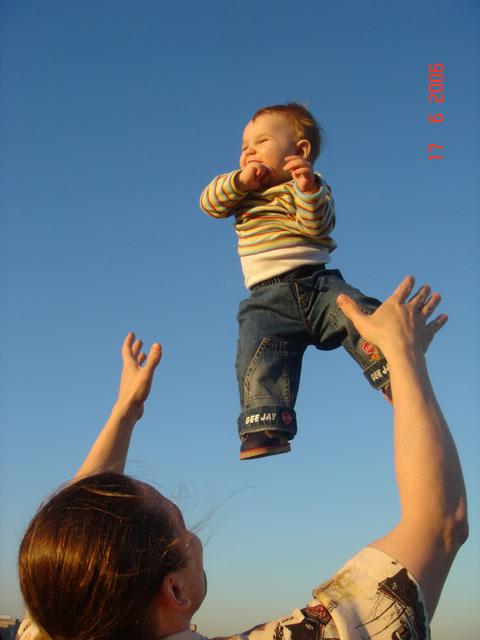 Посмотри с высоты на этот мир, сынок!..