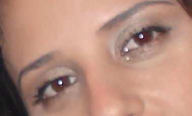 №8 Глаза цвета кофе!