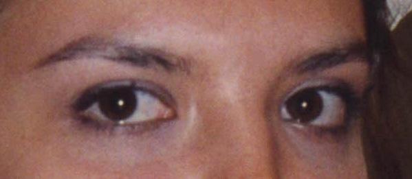 № 28 Серьезные глаза невесты...