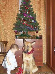 Два подарочка под елкой