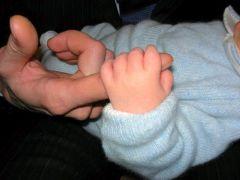 Отец и Сын. Первое рукопожатие.