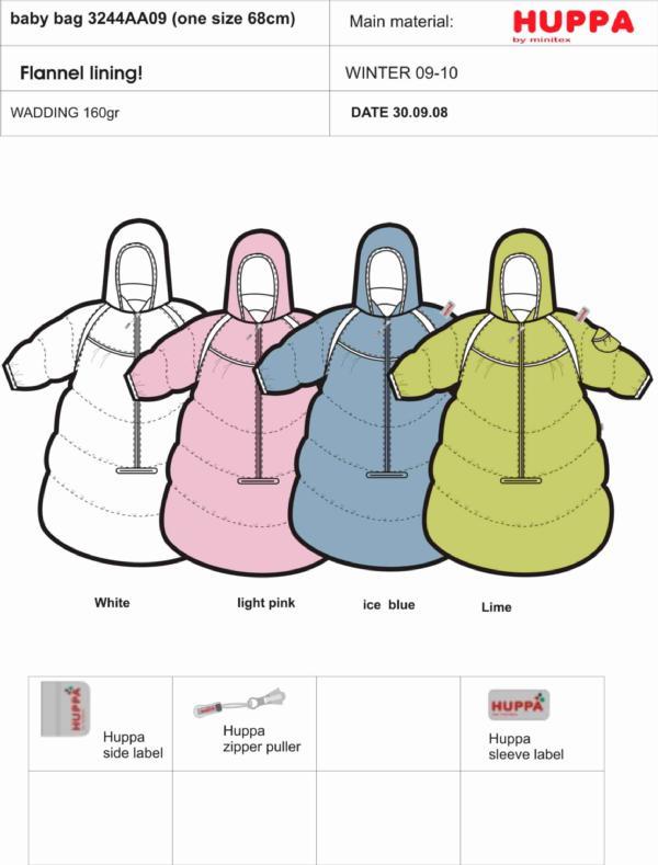 3246AA09 Baby bag, one size 68