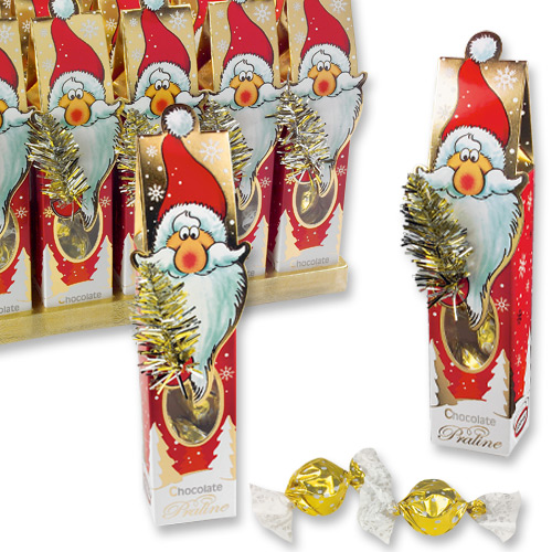 Подарок Деда Мороза с конфетами 6801*