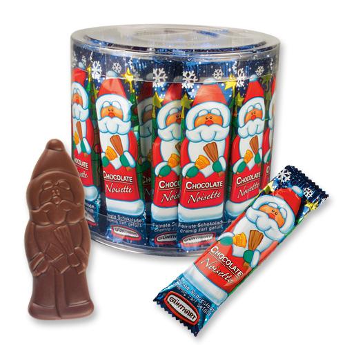 Шоколадки Дед мороз  6006*
