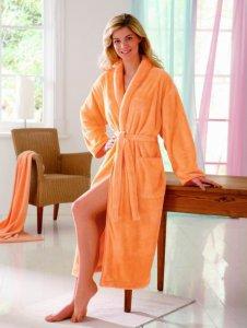 Как выбрать качественный женский домашний халат?