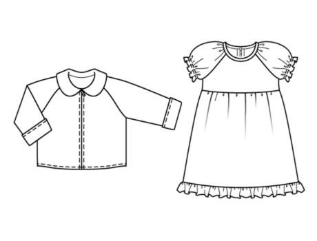 детские выкройки, Выкройка платье трансформер. детские выкройки, Платье трикотажное выкройка